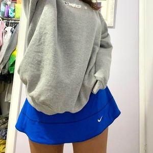 Royal Blue Vintage Nike Mini Skirt